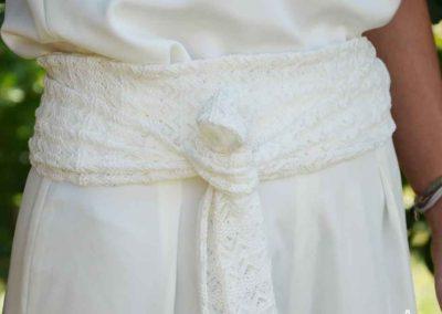 Tenue-blanche-sur-mesure-ceinture